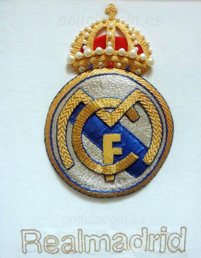 Bordado Oro Real Madrid 2