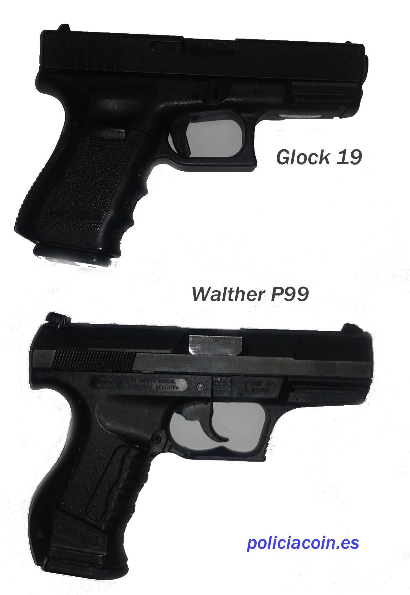 Walther vs Glock